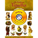 Old-Fashioned Vignettes CD-ROM and Book (Dover Electronic Clip Art)
