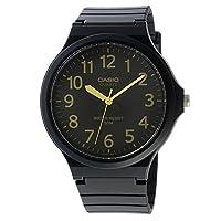 カシオ CASIO クオーツ ユニセックス 腕時計 MW-240-1B2V ブラック/イエロー[逆輸入品][t-1]