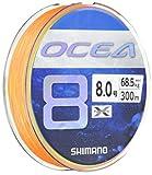 シマノ(SHIMANO) ライン オシア8 300m 8.0号 5カラー LD-A71S