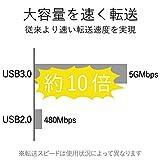 エレコム USB3.0 ハブ 4ポート バスパワー マグネット付 ブラック U3H-T405BBK 画像