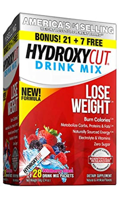 スイス人賢明な信頼できるHydroxycut Pro Clinical Hydroxycut Wild Berry - 21 Packets