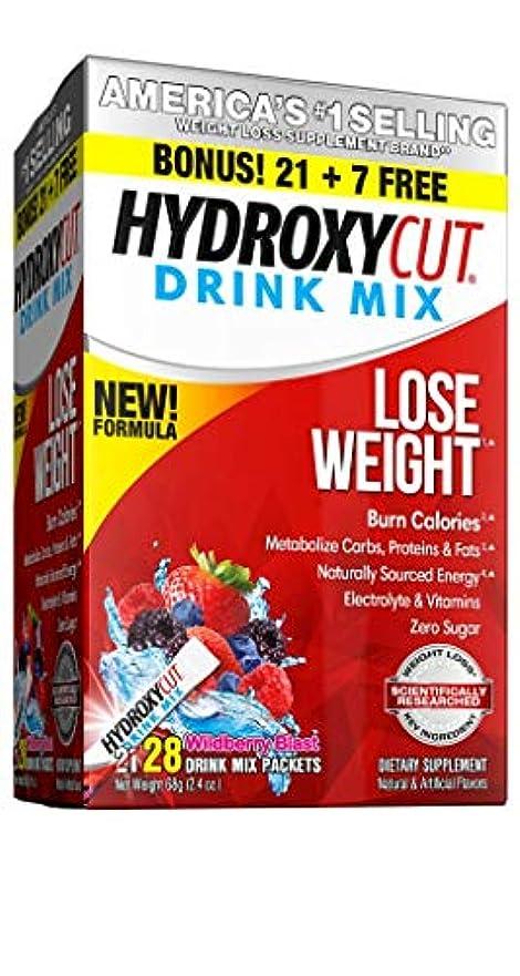 レジデンス邪魔する最終Hydroxycut Pro Clinical Hydroxycut Wild Berry - 21 Packets