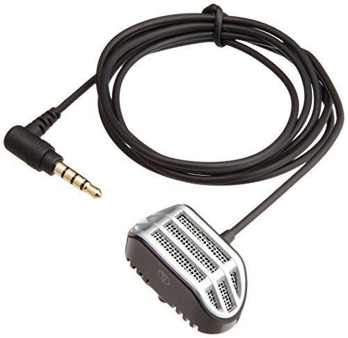 オーディオテクニカ スマートフォン用モノラルマイクロホン(タイピン型) AT9902iS