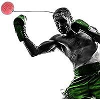 パンチングボール HoSam 軽量 格闘技 練習用ボール ボクシング 打撃練習 反射神経 動体視力 迅速な対応能力など鍛え ボール改善 弾力付き