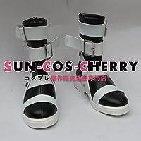 【サイズ選択可】コスプレ靴 ブーツ Z1-051 ソウルイーター SOUL EATER マカ=アルバーン 女性23CM