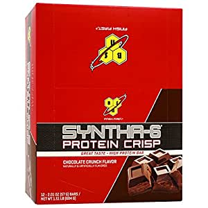 BSN Syntha-6 プロテインバー チョコレート味 12 Bar [並行輸入品]
