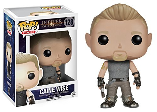 Caine Wise: Funko POP! x Jupiter Ascending Vinyl Figure + 1 FREE Classic Sci-fi & Horror Movies Collector Card Bundle [46699] [並行輸入品] Funko