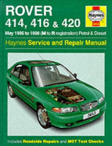 Rover 400 Series (95-98) Service and Repair Manual (Haynes Service and Repair Manuals)