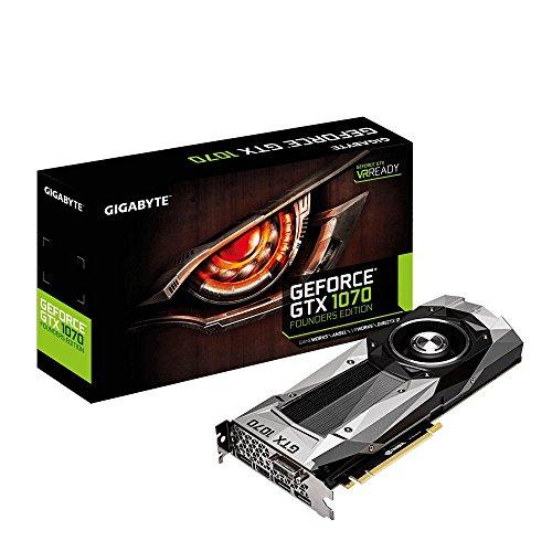 GIGABYTE ビデオカード NVIDIA GeForce GTX 1070搭載 GV-N1070D5-8GD-B