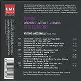 Mozart: Symphonies / Serenades / Overtures 画像