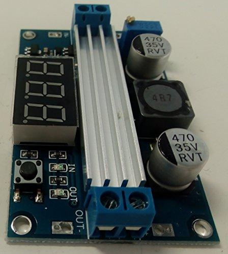 ドクターラボ 6A(最大9A)昇圧型DCコンバータ デジタル電圧計付
