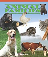 Animal Families (Real Life Readers)