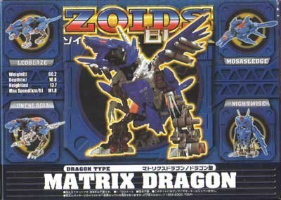 ZOIDS Zoids Brox matrix Dragon Dragon type