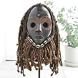 ダン族マスク【アフリカ アート 仮面 インテリア】