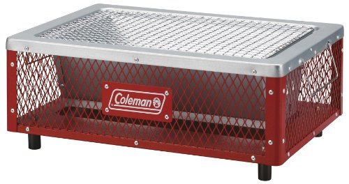 コールマン(Coleman) コンロ クールステージテーブルトップグリル 3~4人用 レッド 170-9432