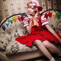コスプレ 衣装 COS/COSPLAY 東方Project 東方紅魔館 フランドール スカーレット 女性サイズL