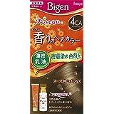 ホーユー ビゲン香りのヘアカラー乳液4CA (カフェブラウン) 40g+60mL ×6個