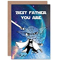 Fathers Day Blank Greeting Card - Best Father You are