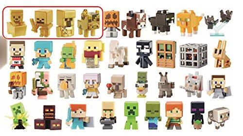 Minecraft マインクラフト ミニフィギュア トレジャーシリーズ2 グリーン  36個入りBOX