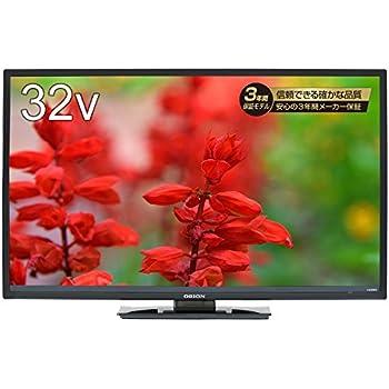 オリオン 32V型 液晶テレビ ニュースタンダードモデル メーカー3年保証 RN-32SF10