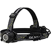 GENTOS(ジェントス) LEDヘッドライト USB充電式 【明るさ500ルーメン/実用点灯6時間】 HLP-1805 ヘッドウォーズ ANSI規格準拠