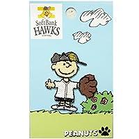 ミノダ スヌーピーデコシール SNOOPY Hawks Charlie Brown S02R8676
