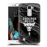 オフィシャルNBA B&Wマーブル シカゴ・ブルズ ハードバックケース LG K10 / K10 Dual SIM