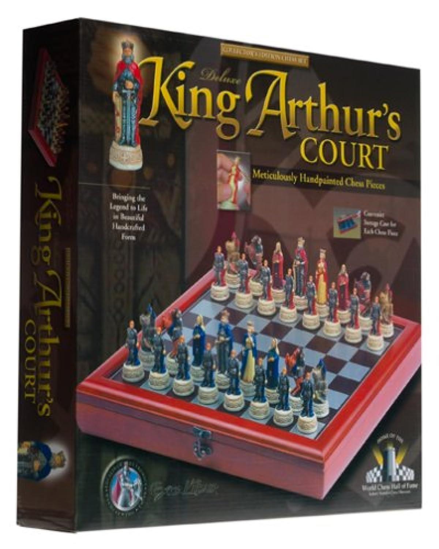 King Arthur's Court Deluxe Chess Set