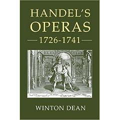 Winton Dean『Handel's Operas, 1726-1741』のAmazonの商品頁を開く