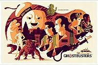 ポスター トム ウェイレン Ghostbusters ゴーストバスターズ 限定375枚 手書きナンバリング入り 額装品 アルミ製ハイグレードフレーム