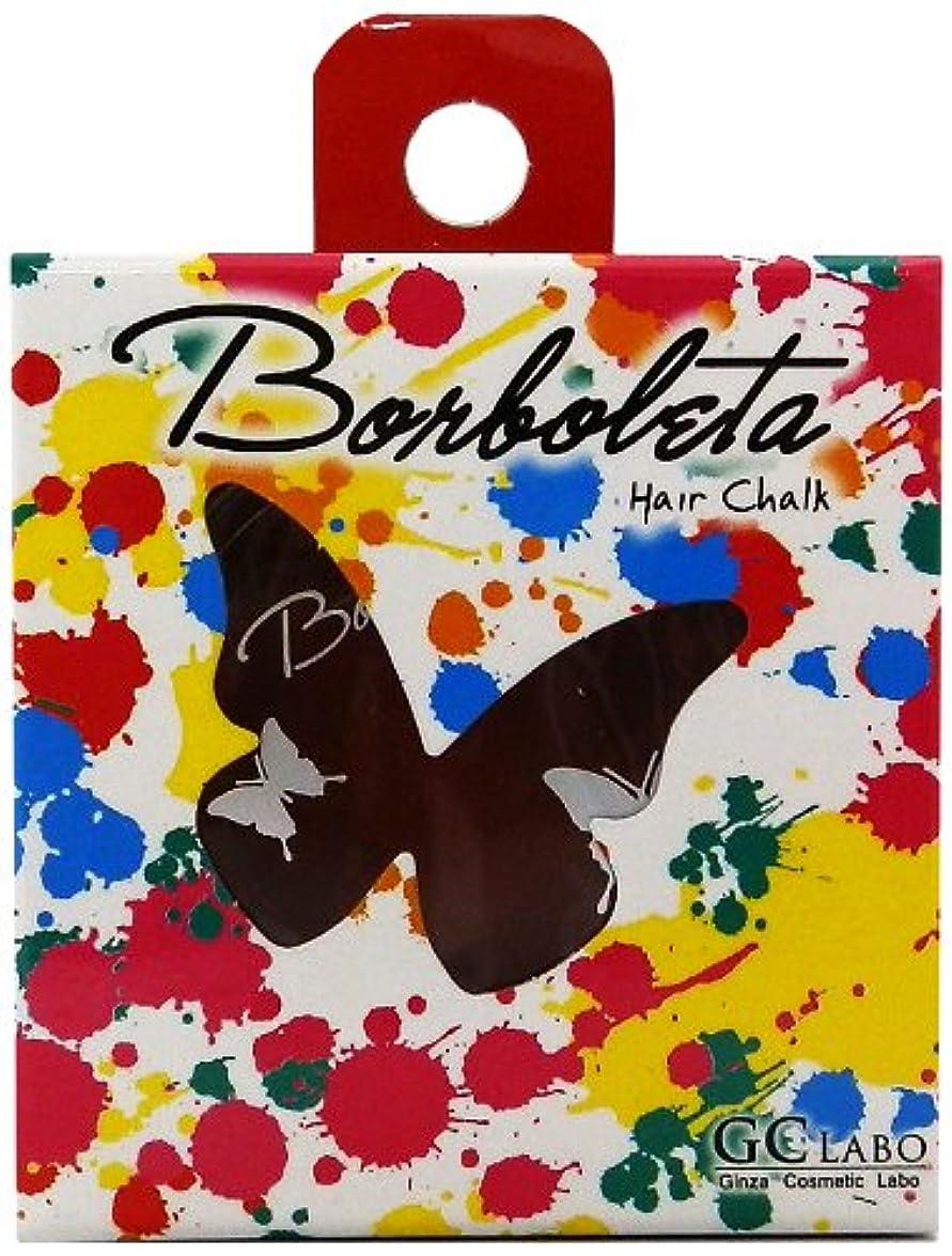 心理的文明化する実験をするBorBoLeta(ボルボレッタ)ヘアカラーチョーク レッドブラウン