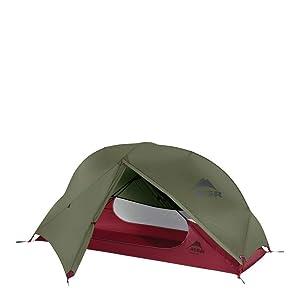 MSR Hubba NX (ハバ NX) 1人用 軽量 テント ヨーロッパモデル グリーン [並行輸入品]