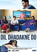 Dil Dhadakne Do Hindi DVD Stg:Ranveer Singh, Priyanka Chopra, Anushka Sharma, Anil Kapoor, Shefali Shah, Farhan Akhtar
