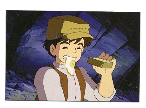 天空の城ラピュタ ポストカード 食べ物シリーズ ?パズーの目玉焼きパン?