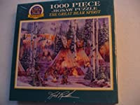 Bits & Pieces the Great Bear Spirit 1000 Piece Jigsaw Puzzle by GOLD SEAL [並行輸入品]