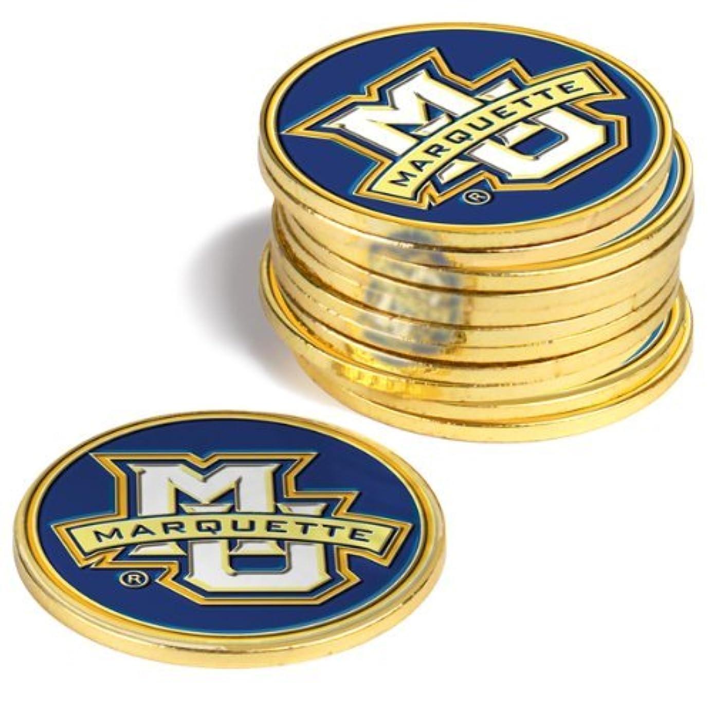 不倫時折子音Marquette Golden Eagles Golf Ball Markers ( 4 Pack )