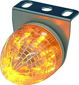 [市光工業/VELIAS]LEDマーカ-ランプ オレンジLブラケット 【品番】 VSL02-24AKI