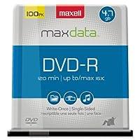 Maxell DVD - Rメディア16x–4.7GB–100パック