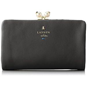 [ランバンオンブルー] LANVIN en Bleu シャペル 二つ折り財布 480723 10 (ブラック)