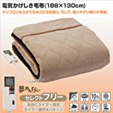 Lifon(リフォン) 電気毛布(掛・敷毛布) 「夢あんない」セレクトフリー (188×130cm) LWS-F801SB