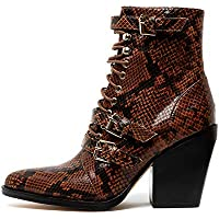 Mollini Maliyah Womens Shoes Lace Ups Heels Ankle Boots