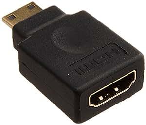 PLANEX HDMI Aタイプ-]ミニHDMI変換アダプタ PL-HDMI-ACF