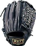 ZETT(ゼット) 軟式野球 プロステイタス グラブ (グローブ) サード用 新軟式ボール対応 ナイトブラック(1900N) 右投げ用 日本製 BRGB30970