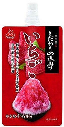 井村屋 かき氷シロップ 「こだわりの氷みつ」 4種セット (いちご・メロン・白桃・抹茶) 各150g 【2017年・限定商品】