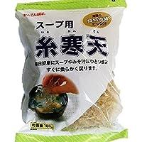 伊那食品 スープ用糸寒天 100g