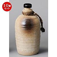 10個セット 白伊賀4合ボトル [ 95 x 200mm・800cc ]【 酒器 】 【 居酒屋 割烹 和食器 飲食店 業務用 】