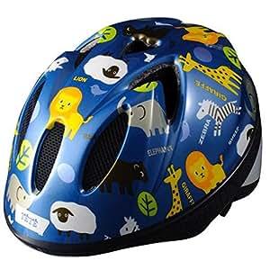 TETE  幼児・子供用ヘルメット軽量モデル スプラッシュハート  アニマル ブルー 【サイズ】XS (48-52cm)約220g 年齢目安 1~3歳
