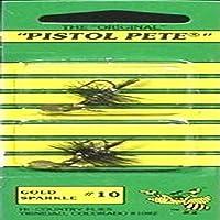 Pistol Pete Hi-Country Fishing Flies, Size 10, Gold Sparkle [並行輸入品]