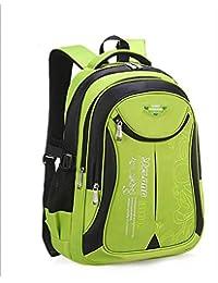 少年少女のための学生のバックパックの学校のバッグ、小学校のバッグのブックバック、学生のためのショルダーバッグ子供のスクールバッグ