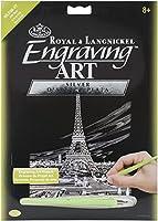 "Silver Foil Engraving Art Kit 8""X10""-Eiffel Tower (並行輸入品)"